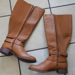 TORRID Wide Calf Brown Boots